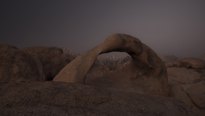 Mobius Arch - Alabama Hills Recreation Area, California 2008