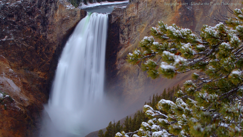 Lower Falls - Yellowstone National Park, Wyoming 2004