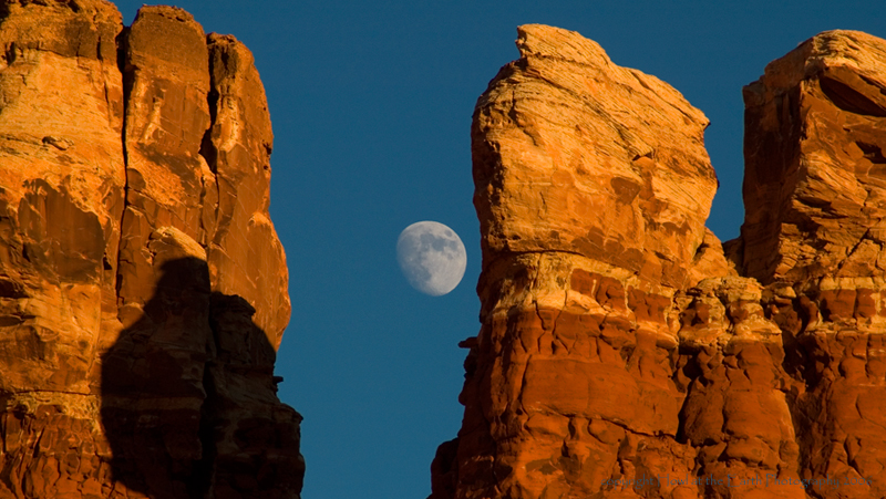 Moonrise at Hite - Glen Canyon National Recreation Area, Arizona/Utah 2006