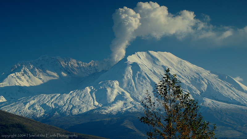 Eruption - Mount St. Helens National Volcanic Monument, Washington 2004