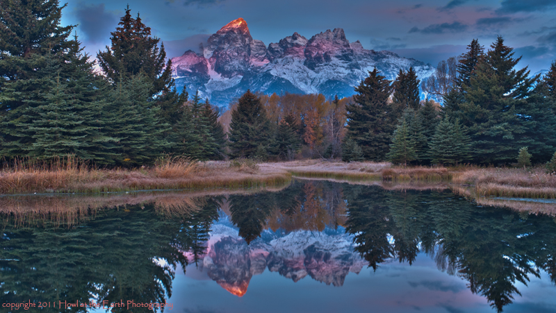 Teton Reflections - Grand Teton National Park, Wyoming 2011